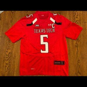 Patrick Mahomes Texas Tech Red Jersey